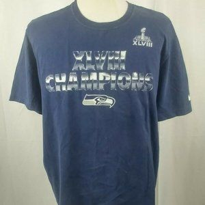Nike Superbowl XLVIII Seattle Seahawks Regular XL